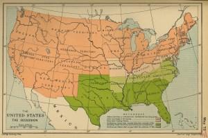 us secession map – Source Cambridge Uni Press 1973