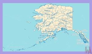 Alaska Rivers Map |  Rivers  Map of Alaska – 2