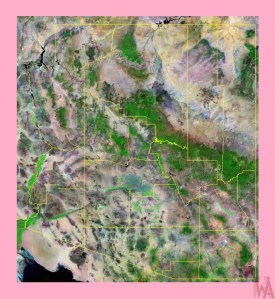 Arizona Satellite Map  |  Satellite  Map of Arizona =2