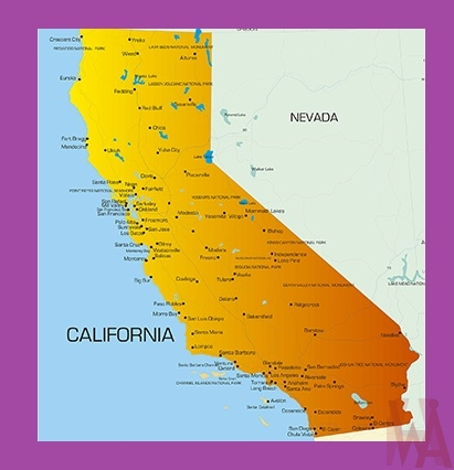 California Detailed  Map – 3  |  Detailed Map of California