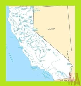 California Rivers  Map | Rivers  Map of California