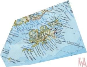 Map of Kodiak