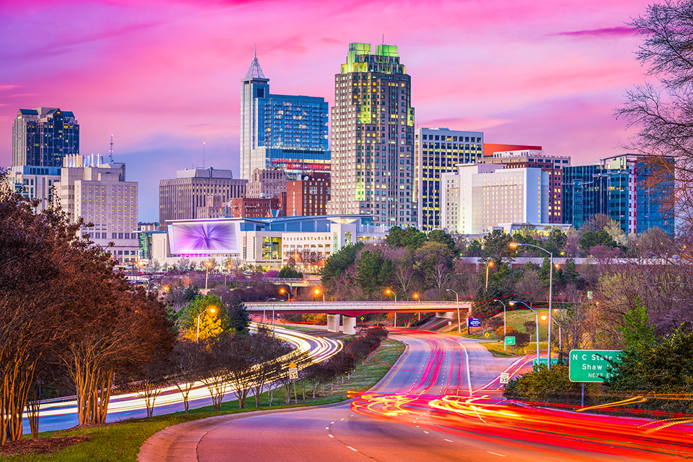 Largest Cities in North Carolina