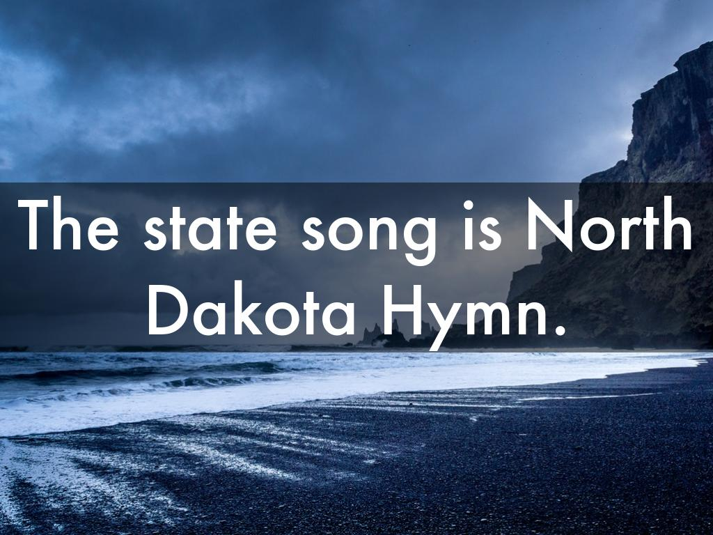 State Song Of North Dakota