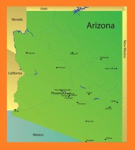 Arizona Details Map | Large Printable and Standard Map