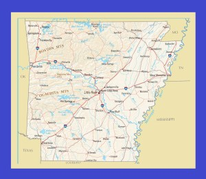 Map of Arkansas | Political, Physical, Geographical, Transportation, And Cities Map
