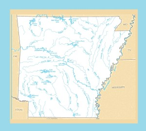 Arkansas River Map | Large Printable and Standard Map – 2