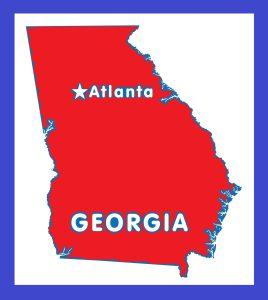 Georgia Capital Map | Large Printable and Standard Map 3