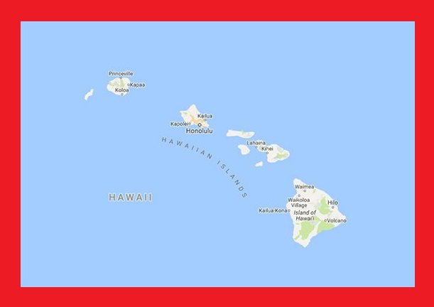 Hawaii Interactive Map | Large Printable and Standard Map 2