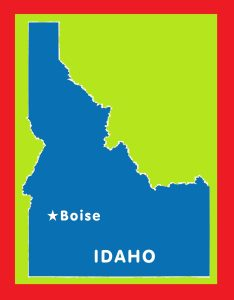 Idaho Capital Map | Large Printable and Standard Map