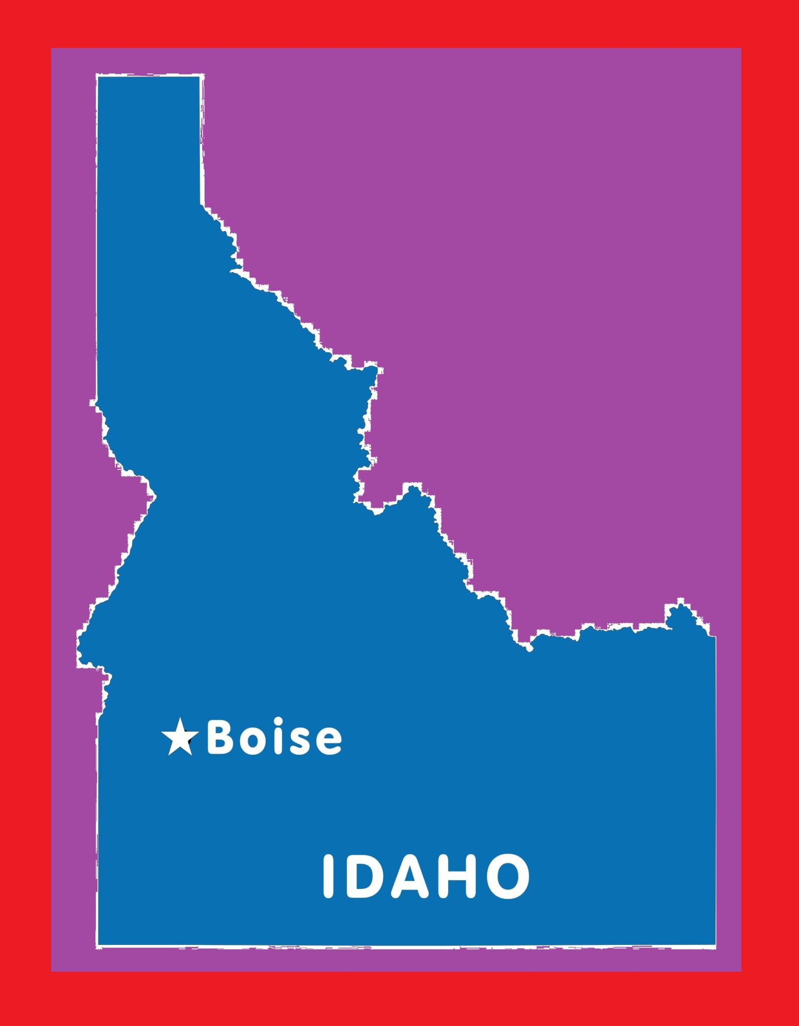 Idaho Capital Map | Large Printable and Standard Map 7