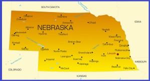 Nebraska Details Map   Large Printable High Resolution and Standard Map