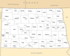 North Dakota City Map   Large Printable High Resolution and Standard Map