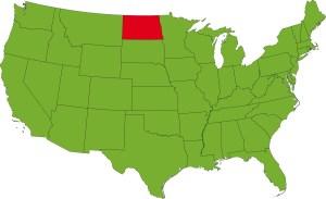 North Dakota Location Map   Large Printable High Resolution and Standard Map
