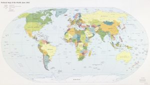 The World Political Map    June 2002   Large, Printable Downloadable Map