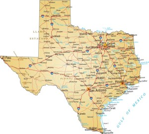 Texas Details Map | Large Printable High Resolution and Standard Map
