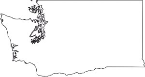 Washington blank outline Map | Large Printable High Resolution and Standard Map