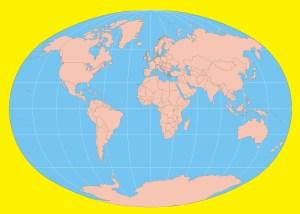 Blank World Map -Large Printable