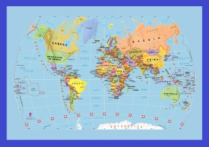 The World Map   Large Printable And HD