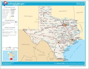 Texas Political Map | Large Printable High Resolution and Standard Map