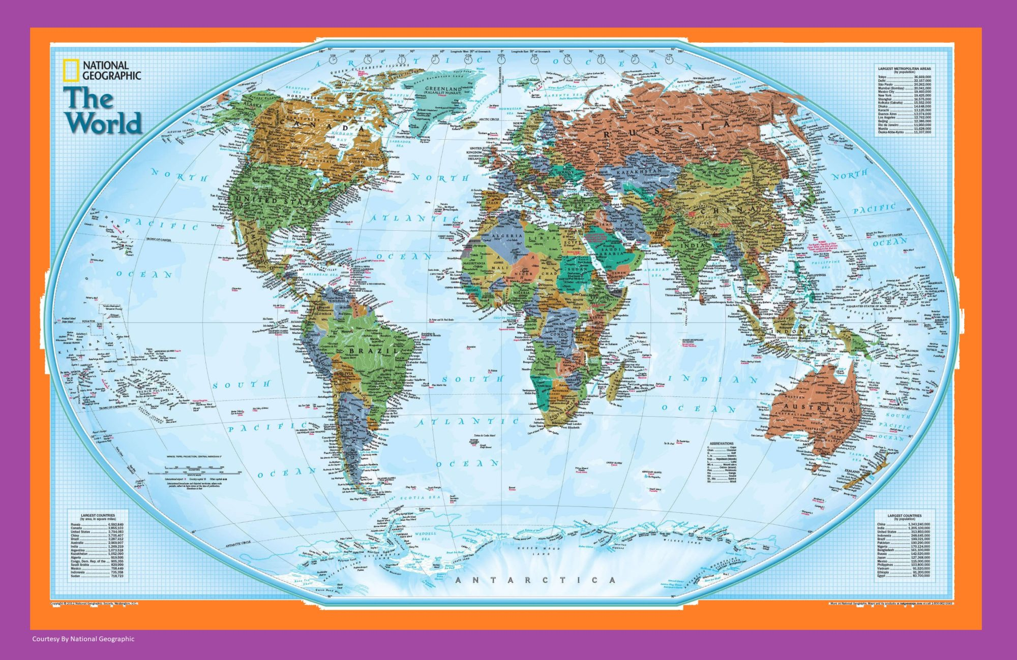 The World Political Globe Map   Large, Printable, Children Choice, Political Map – 3
