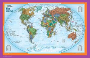 The World Political Globe Map | Large, Printable, Children Choice, Political Map – 3