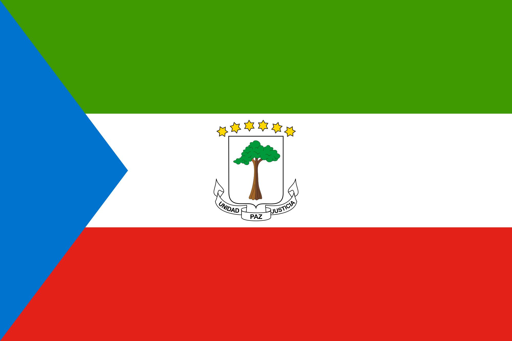 National Flag Of Equatorial Guinea