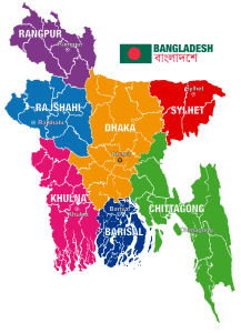 Map Of Bangladesh | Physical Map Of Bangladesh
