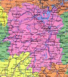 Map of Hunan Province | Political, Blank, Geography And Cities Map