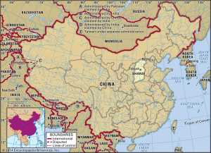 Map of Shanxi Province | Political, Outline, Geography And Transportation Map