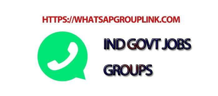 Join New Indian Government Jobs WhatsApp Group Link
