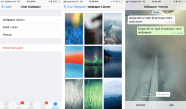 Wallpapers For WhatsApp On iPhone