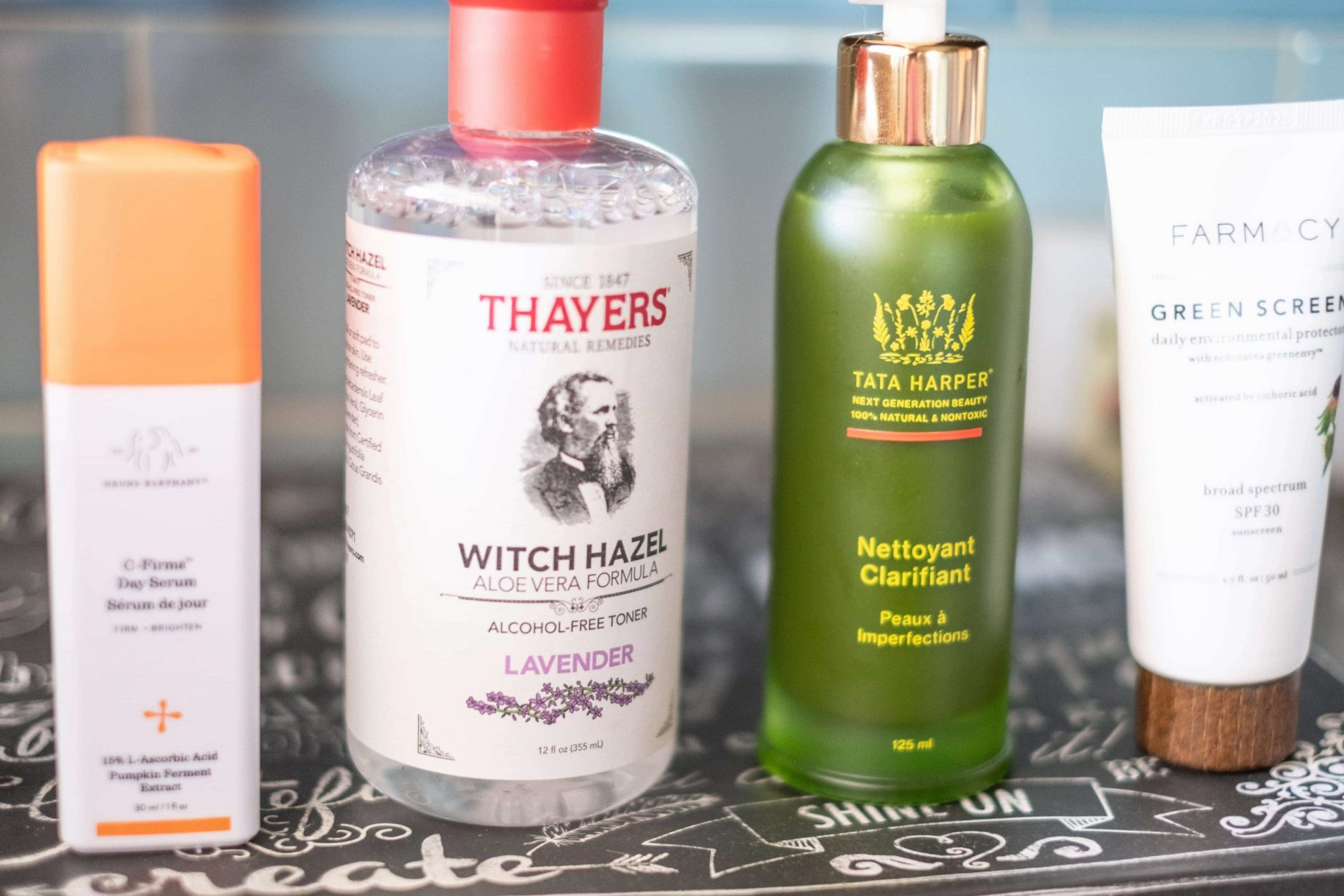 Clean Skincare Products I Can't Get Enough Of #whatsavvysaid #cleanskincare #nontoxicbeauty #tataharper #witchhazel #drunkelephant #farmacy #beautycounter #moisturizer