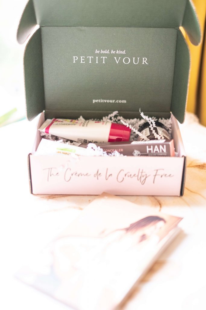 Petit Vour Review - December Beauty Box #whatsavvysaid #wellness #beauty #crueltyfree #subscriptionbox #monthlybeauty #petitvour #newbeauty #samples #vegan #beboldbekind