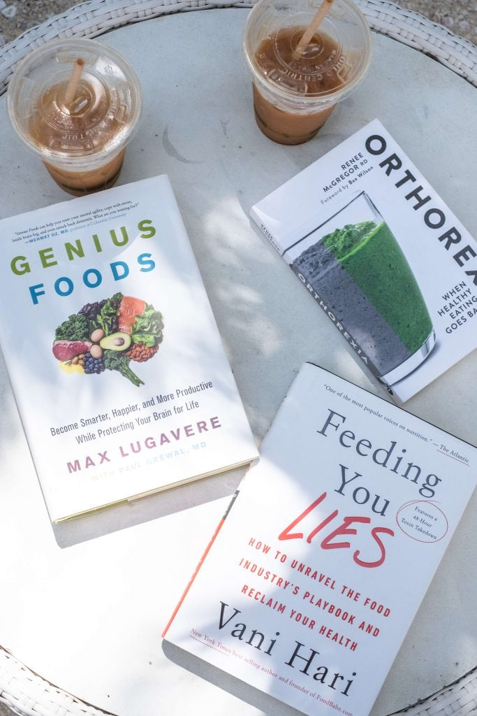 3 Health Books You Need To Read ASAP #whatsavvysaid #orthorexia #genuisfoods #feedingyoulies #healthyliving #healthylifestyle #healthbooks