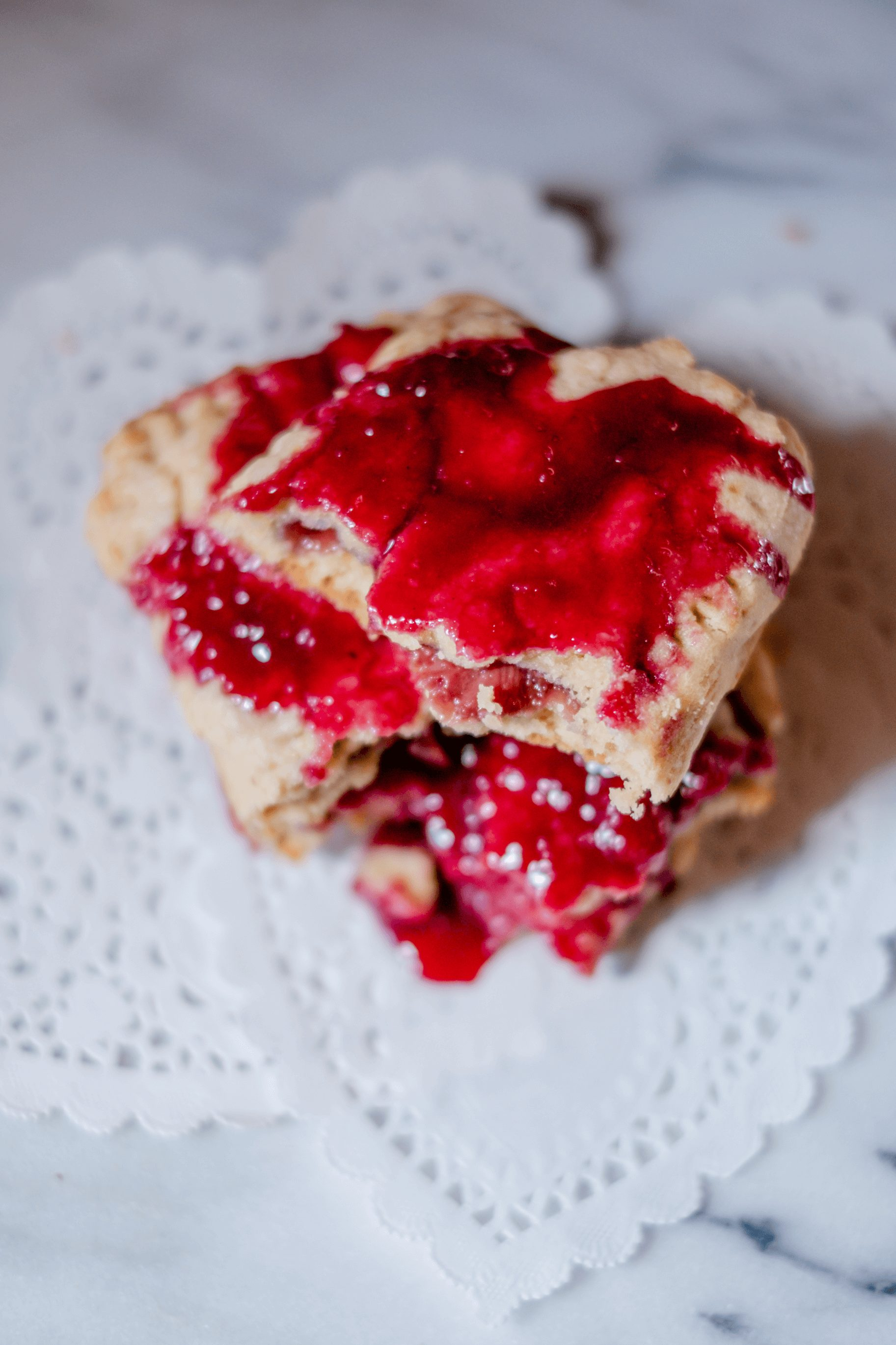Strawberry Paleo Pop Tarts #whatsavvysaid #glutenfree #dairyfree #refinedsugarfree