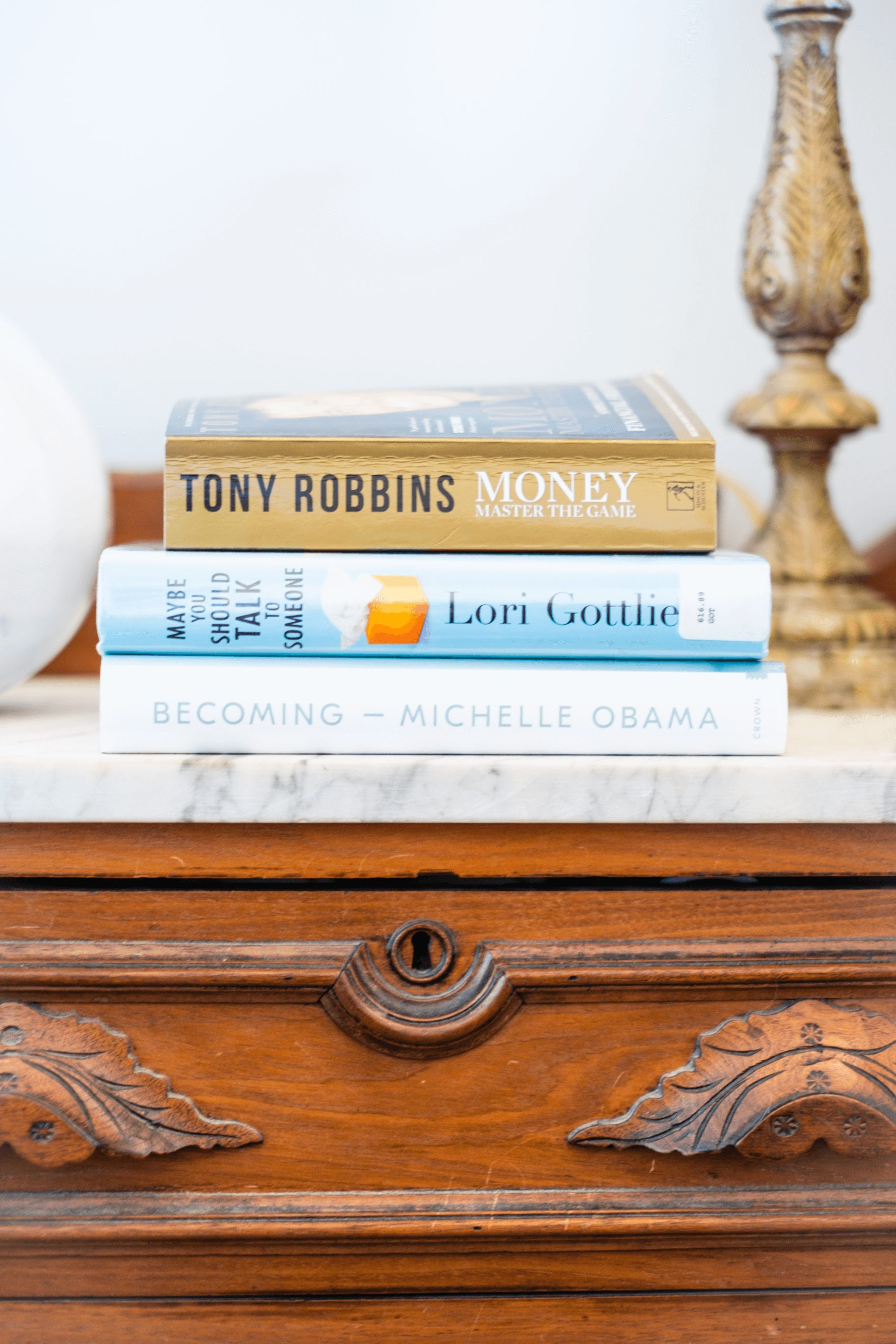 What's On My Night Stand- My Spring Book List #whatsavvysaid #bookroom #springbooklist