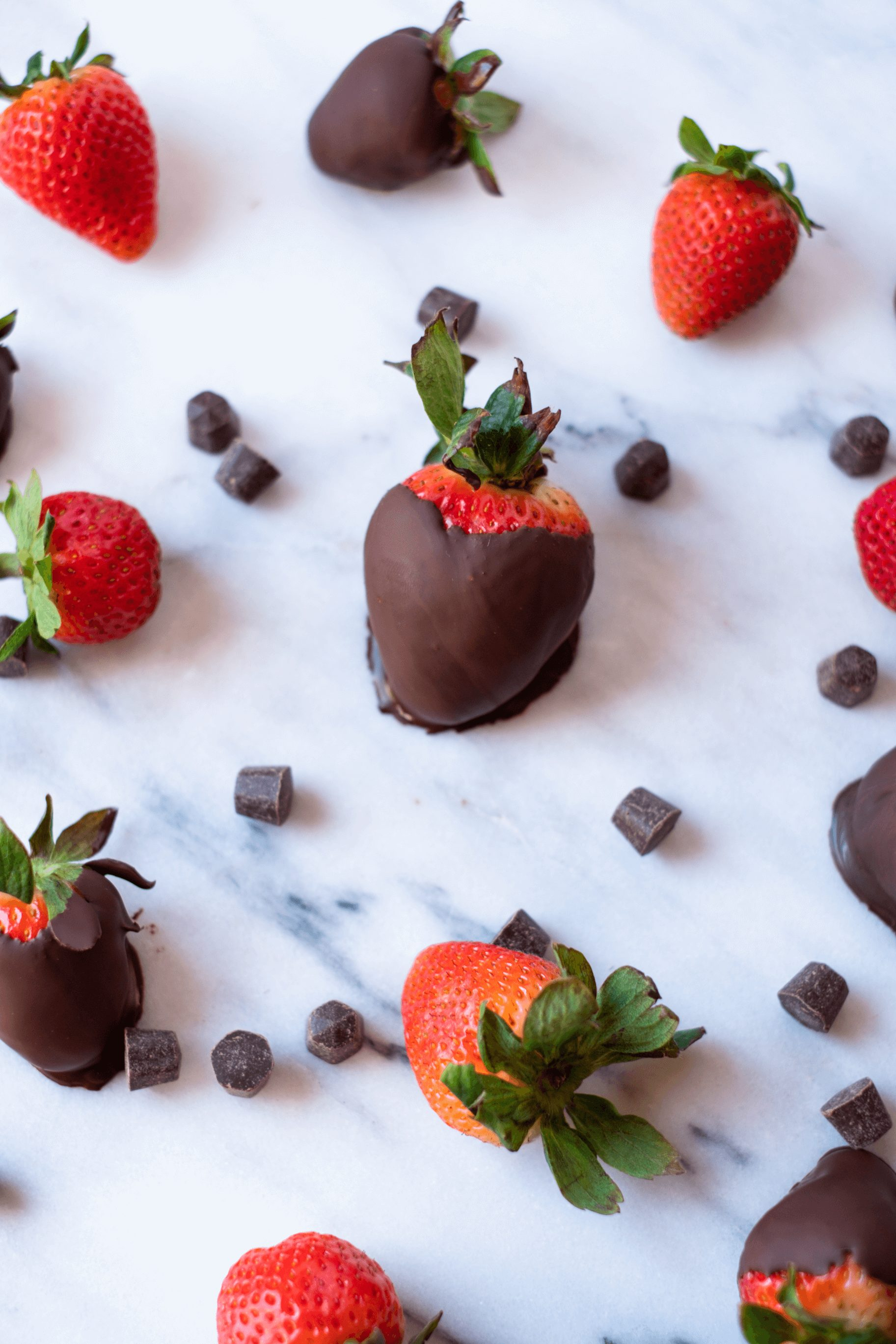 Rose Chocolate Covered Strawberries - The easiest valentine's day recipe featuring rose wine and paleo chocolate!