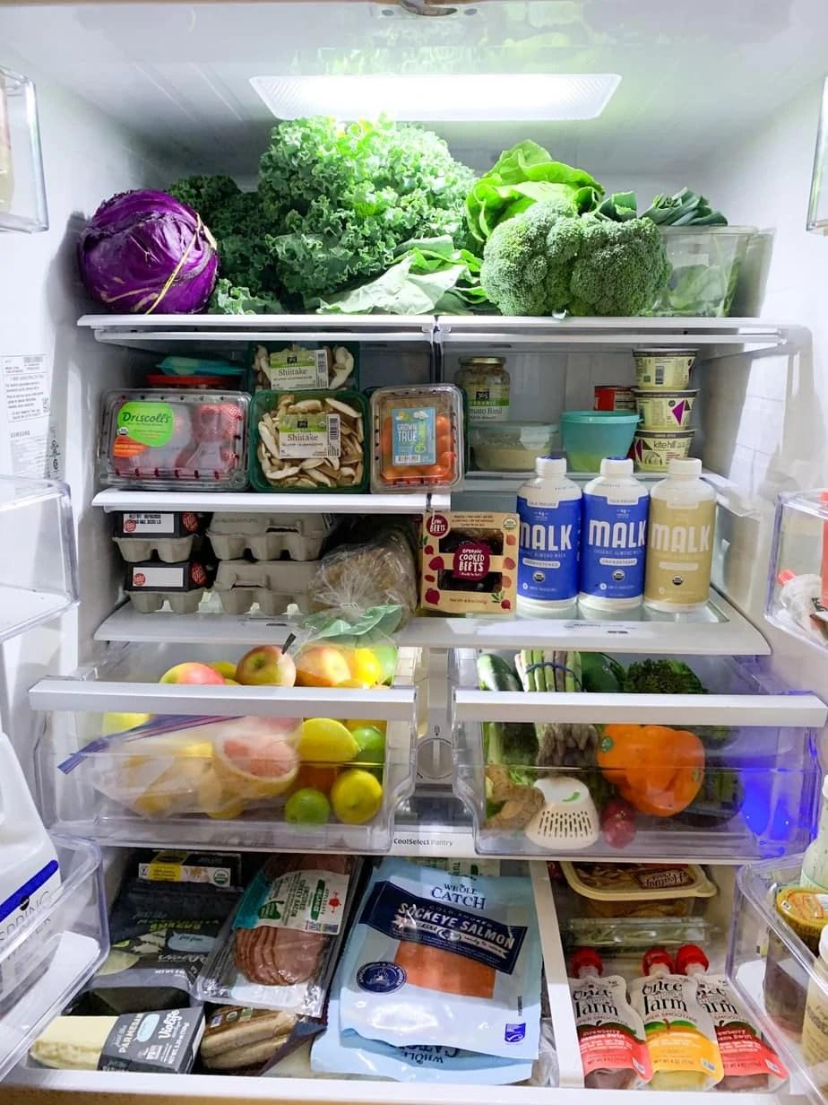 Healthy Fridge Organization Tips