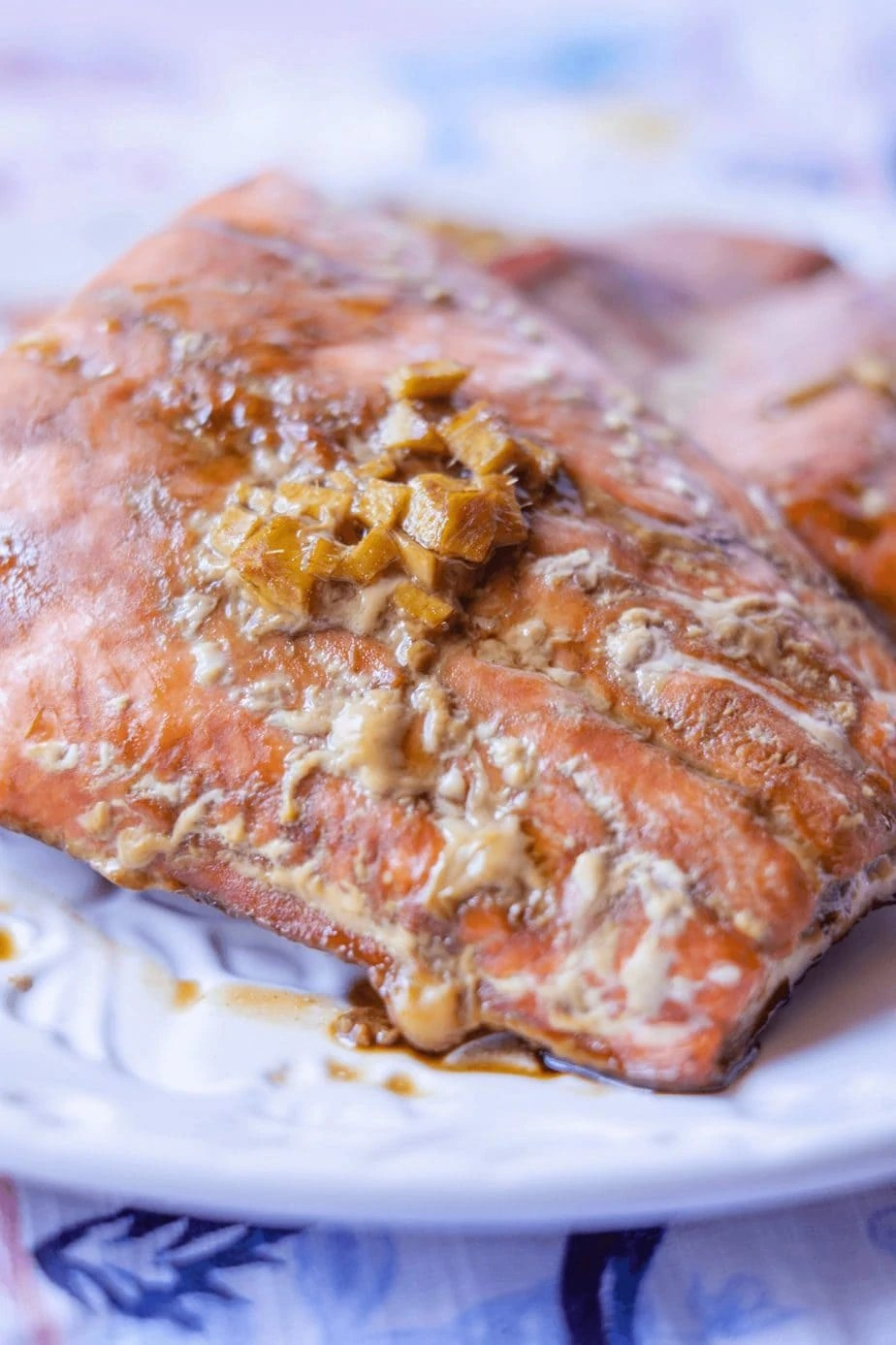 Paleo Teriyaki Salmon #whatsavvysaid #paleodinner #paleorecipe