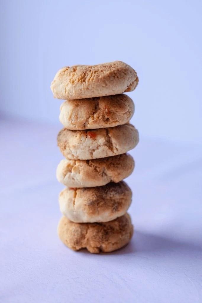 Paleo Thumbprint Cookies #whatsavvysaid #paleorecipe #paleocookies