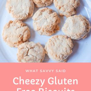 Cheezy Gluten Free Biscuits