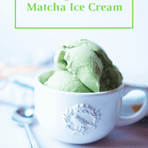 Easy matcha ice cream recipe featured by top ALT lifestyle blogger, What Savvy Said