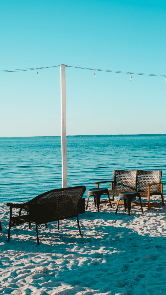 Where To Eat CHow To Do 30A On A Budget, tips featured by top US travel blogger, What Savvy Saidheaply on 30A - North Beach Social