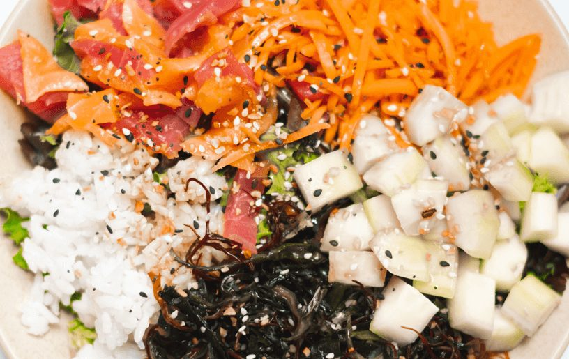 How To Make A Poke Bowl featured by top Atlanta lifestyle blogger, What Savvy Said