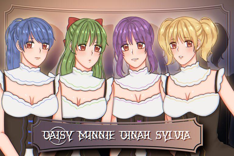 Daisy, Minnie, Dinah, and Sylvia Portraits