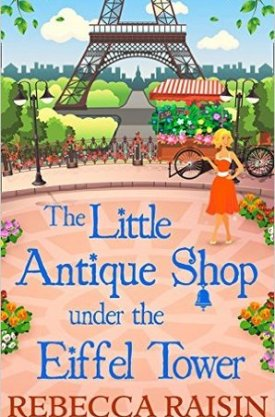 #BookReview The Little Antique Shop Under the Eiffel Tower by Rebecca Raisin @jaxandwillsmum