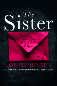 #BookReview #TheSister by Louise Jensen @Fab_fiction @bookouture @TheCrimeVault @littlebookcafe