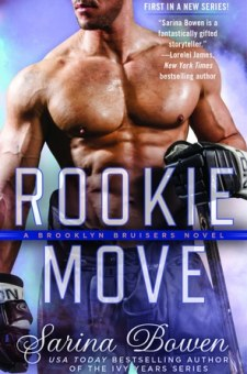 #BookReview Rookie Move by Sarina Bowen @SarinaBowen