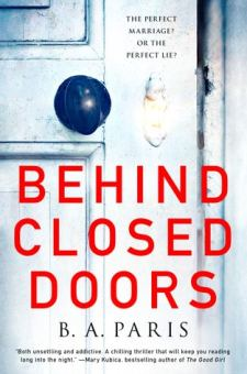 #BookReview Behind Closed Doors by B. A. Paris